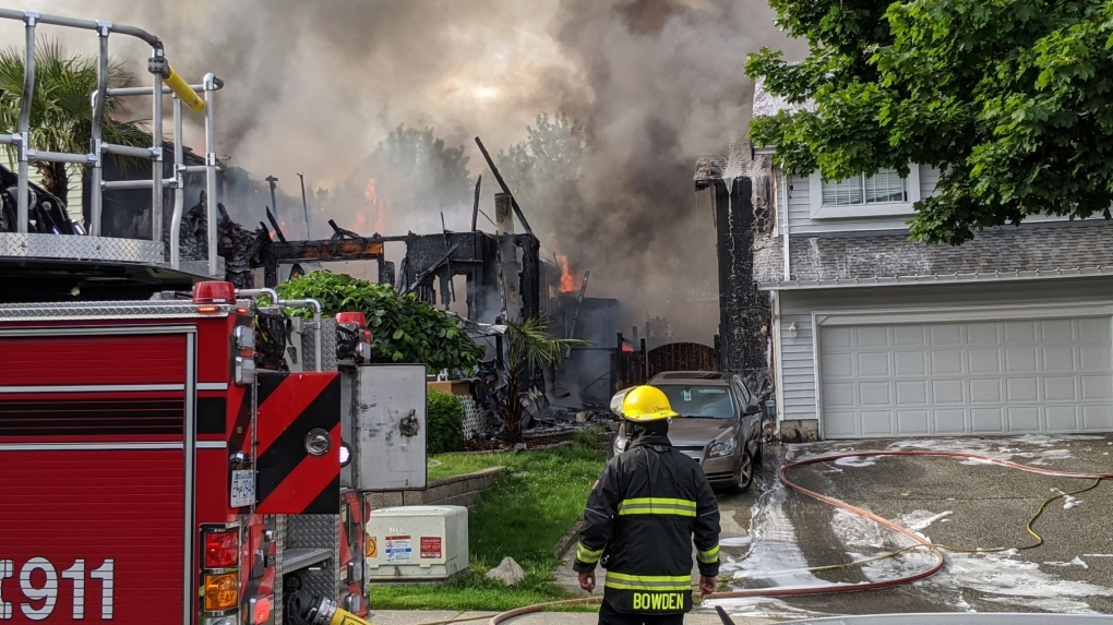 3 bodies found during investigation into Langley house fire | CTV News
