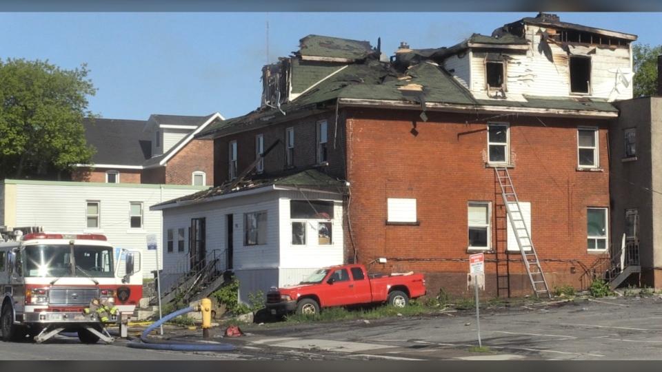 Sudbury fire on Beech Street