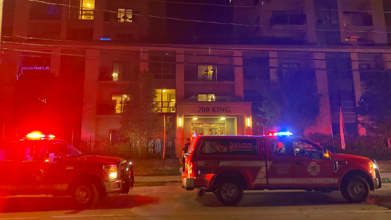 Fire at 700 King Street on Saturday, June 13, 2020 (Source: London Fire Department)