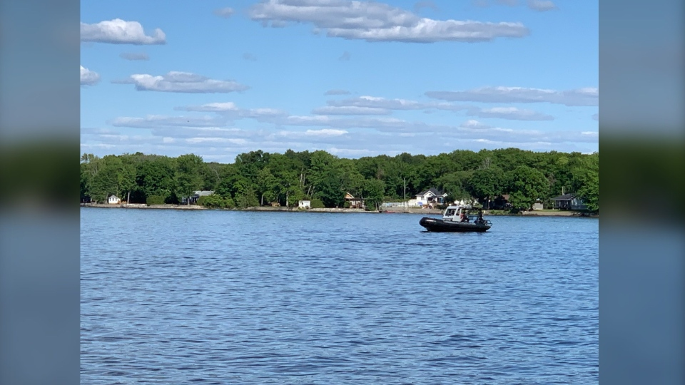 A small plane crashed in the Ottawa River after coming into contact with another plane mid-air near Constance Bay.