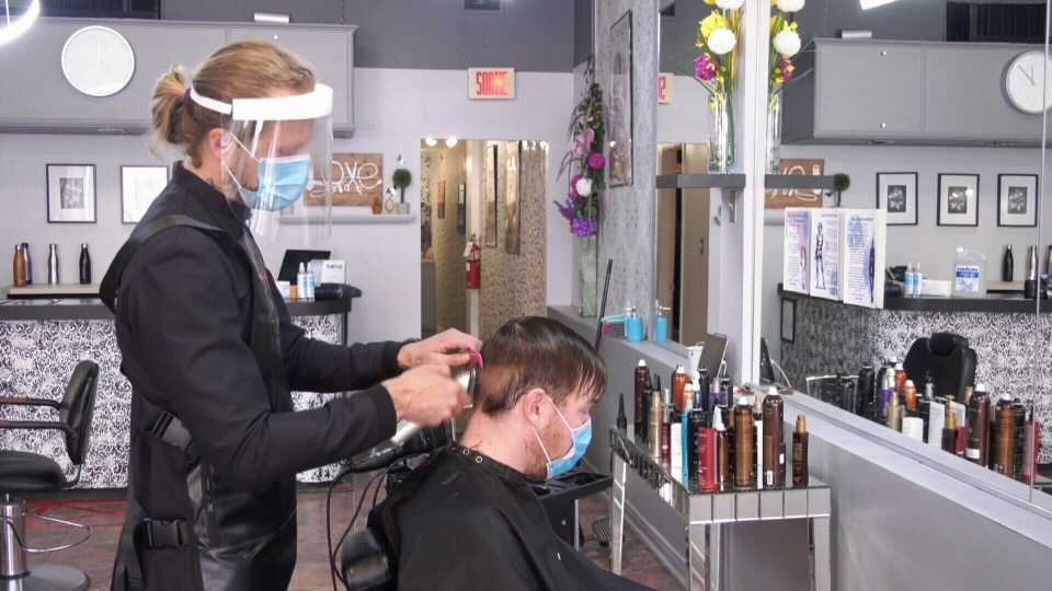 Montreal salons reopen