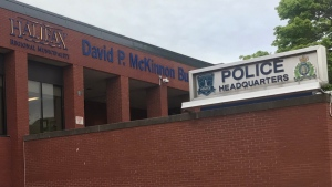 Halifax Regional Police headquarters is seen on Gottingen Street on June 15, 2020. (Carl Pomeroy/CTV Atlantic)