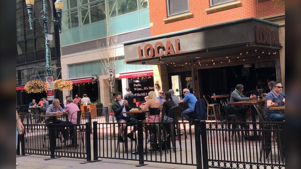Local on Eighth Calgary pub patio