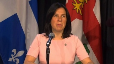 Montreal Mayor Valerie Plante.