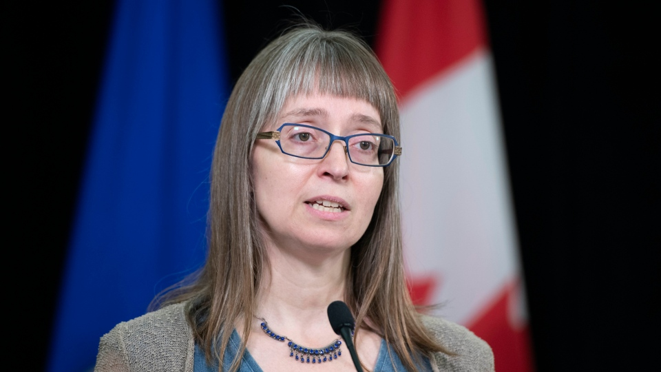 Alberta's chief medical officer of health Dr. Deena Hinshaw provided, from Edmonton on Friday, June 12, 2020, an update on COVID-19 and the ongoing work to protect public health. (Chris Schwarz/Government of Alberta)