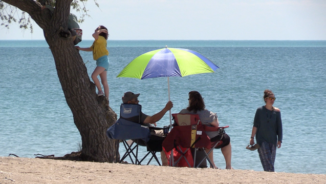 Goderich's Main Beach