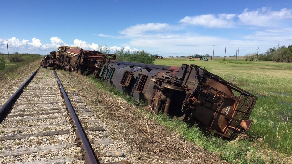 Brancepath train cars