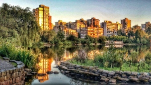 Lost Lagoon, in Vancouver's Stanley Park, is pictured in June 2020.  (Vera Pilecki photo submitted through Weather Watch by CTV Vancouver)