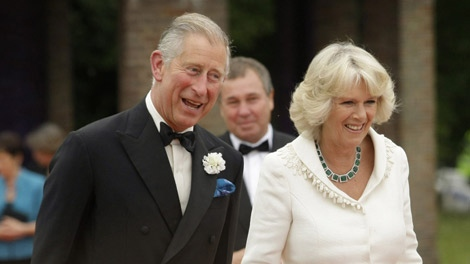 Britain's Prince Charles and his wife Camilla the Duchess of Cornwall attend the Royal Gala Performance of Peter Pan in London, Wednesday, June 17, 2009. (AP Photo / Matt Dunham)