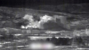 North Korea blows up building used for talks