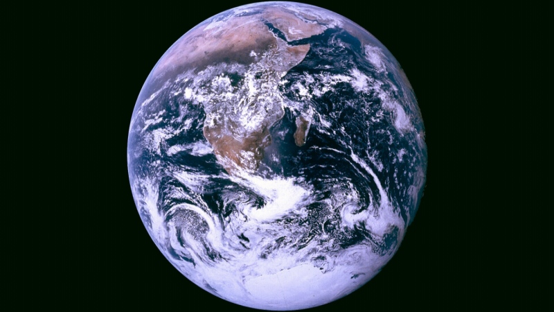 Earth is seen in this file photo.