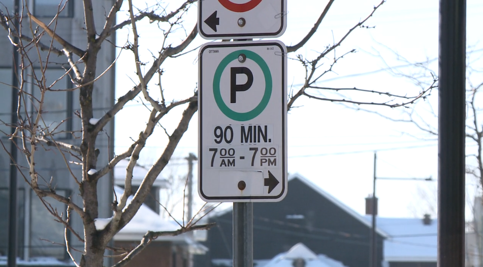 Timed parking limit Ottawa