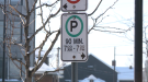 Timed parking limit Ottawa