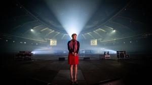 Martha Wainwright at Olympic Stadium in Montreal. (Photo: Dominic Gravel)