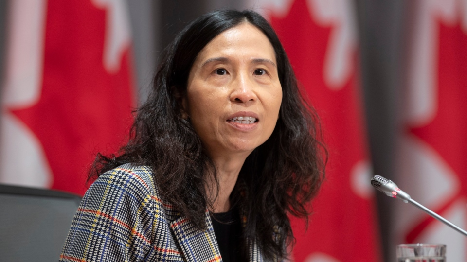 Canada's Chief Public Health Officer Theresa Tam responds to a question during a news conference Tuesday June 16, 2020 in Ottawa. THE CANADIAN PRESS/Adrian Wyld