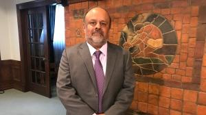 Dr. Saqib Shahab, Saskatchewan's Chief Medical Health Officer, is pictured. (Cally Stephanow / CTV News Regina)