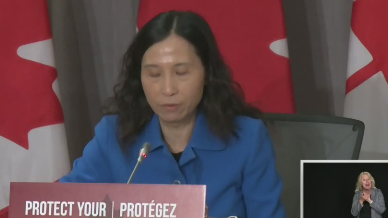 Canada's Chief Public Health Officer Dr. Theresa Tam