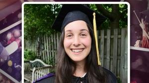 McGill grad celebrates with backyard ceremony