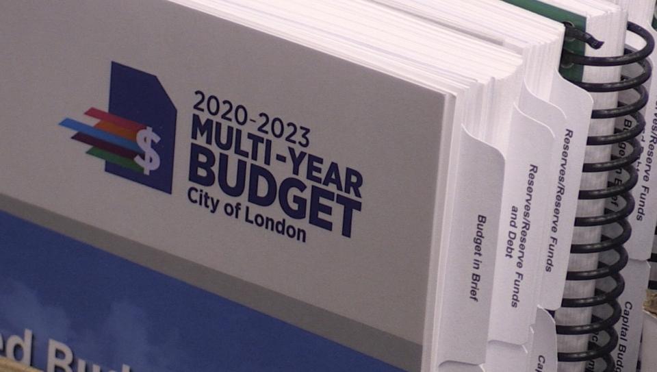 City of London 2020-2023 multi-year budget