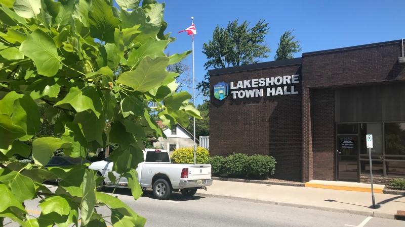 Lakeshore Town Hall in Lakeshore Ont., on Wednesday, June 17 2020 (Angelo Aversa/CTV Windsor)
