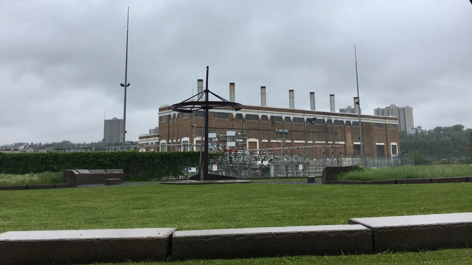 Rossdale Power Plant