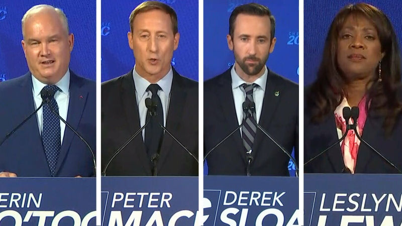 REPLAY: Conservative leadership debate in French