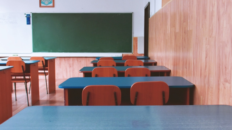 An empty classroom seen in this undated generic photo. (Dids / Pexels)