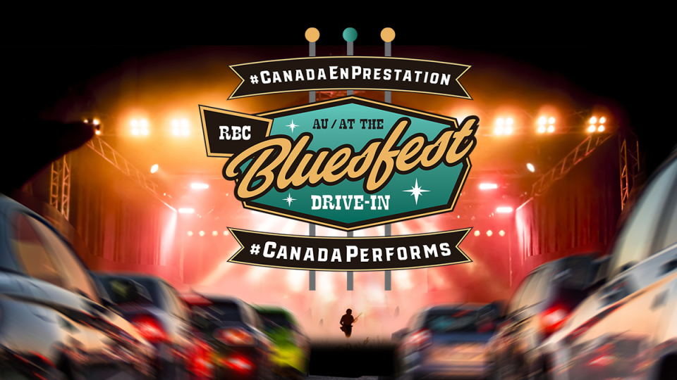 RBC Bluesfest drive-in concerts