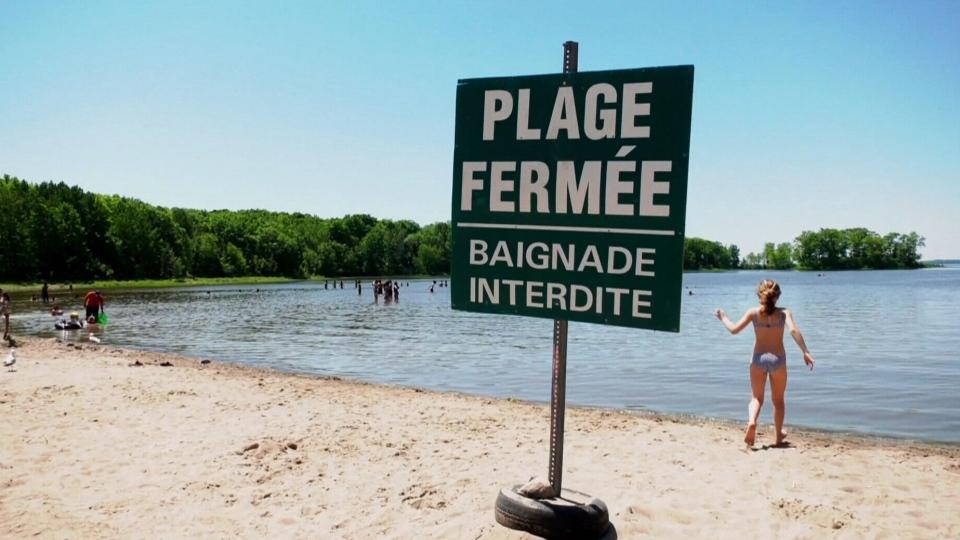 Montreal seek cool spots in heat wave