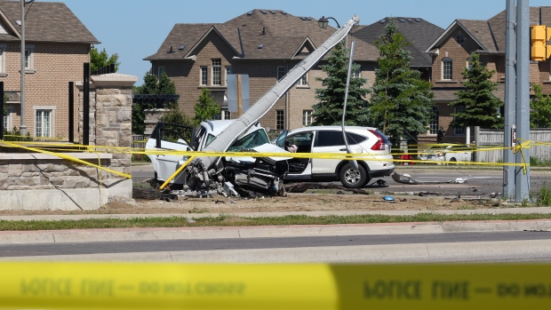 Suspect accused in Brampton, Ont. crash that killed mother, 3 children was fleeing from police at the time, SIU says