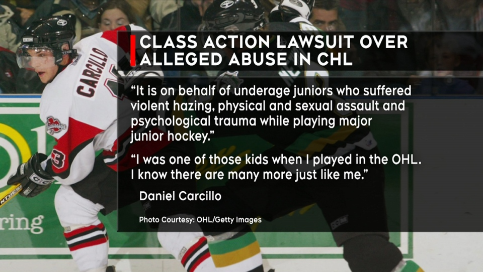 Former NHL player Daniel Carcillo spearheaded a lawsuit against the CHL over alleged abuse of players