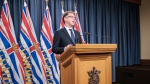 Health Minister Adrian Dix gives an update from Victoria on June 8, 2020. (Province of BC/Flickr)