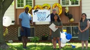 Terry Fox elementary school graduation