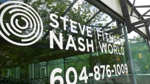 A Steve Nash gym, closed during the pandemic.