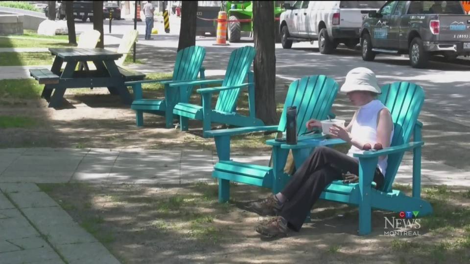 Heat wave continues in Montreal