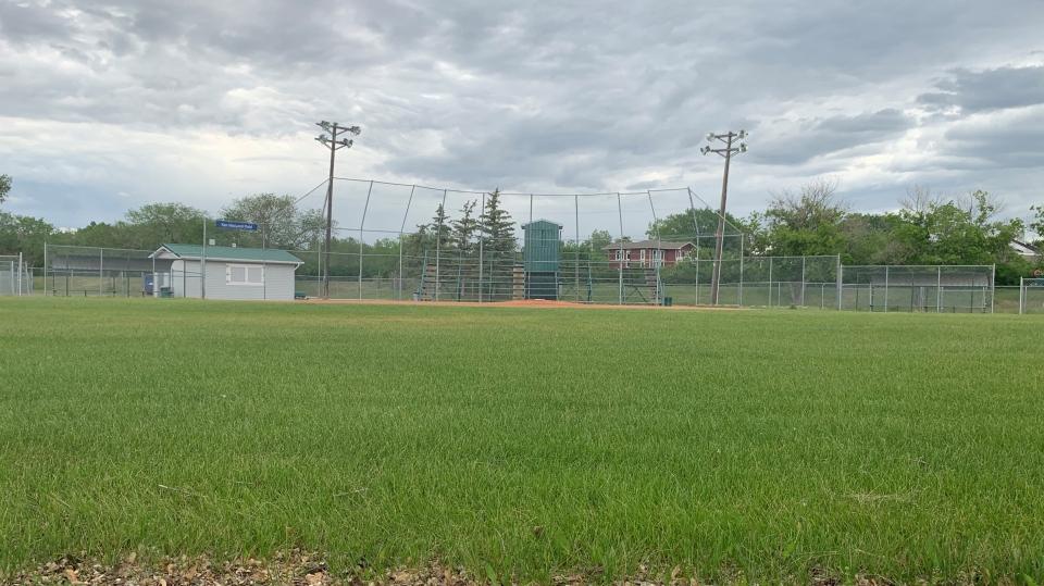 Regina baseball diamond