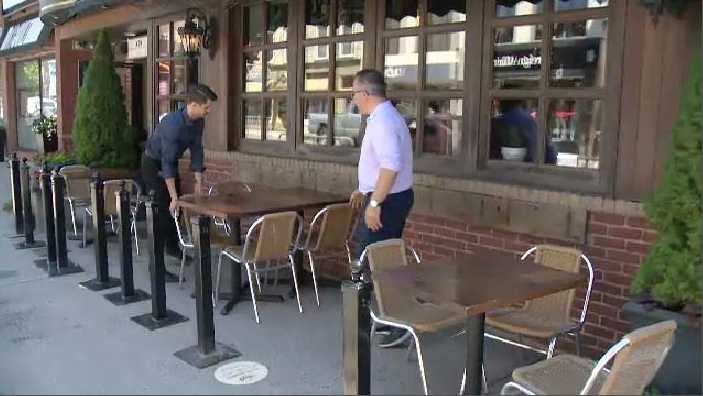 On Friday, Halifax restaurant owner Hakan Uluerwas was setting up his first outdoor patio, something made possible for many restaurant owners by