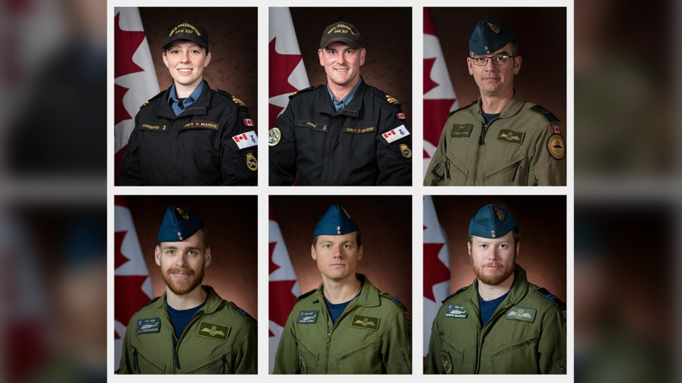 CAF members killed in CH-148 crash identified