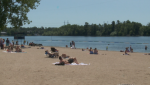 Ottawa beach summer hot weather