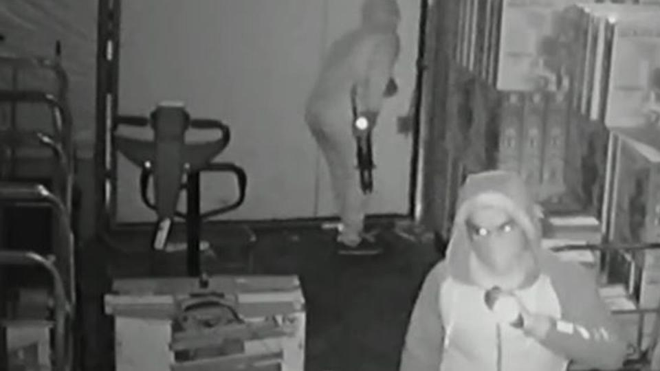 saffron burglars