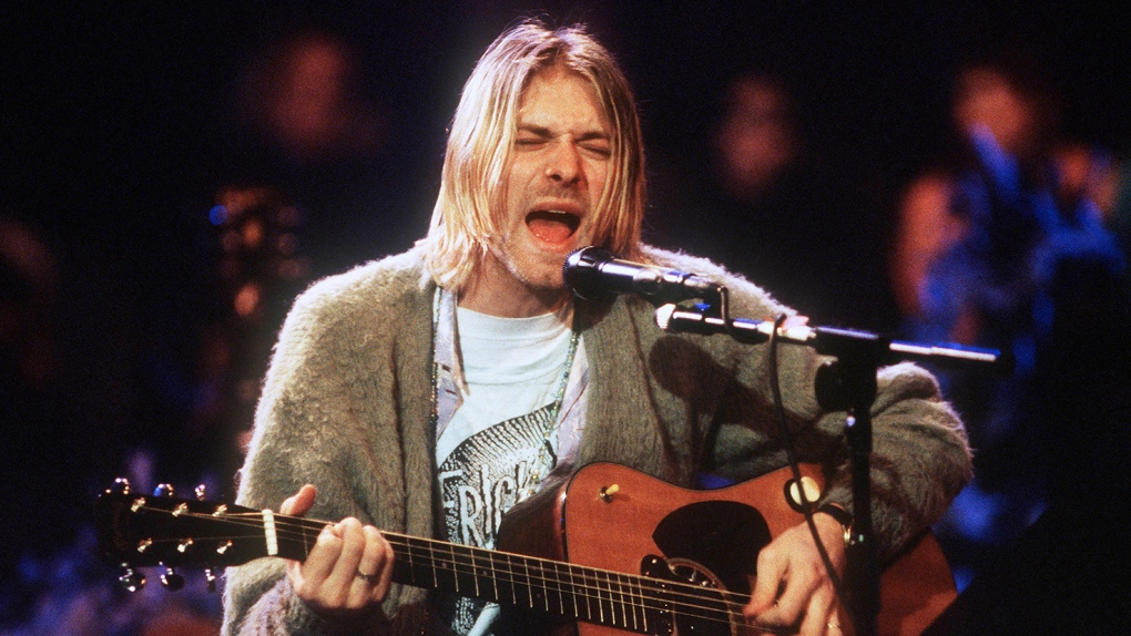 Kurt Cobain's MTV Unplugged guitar breaks records at auction