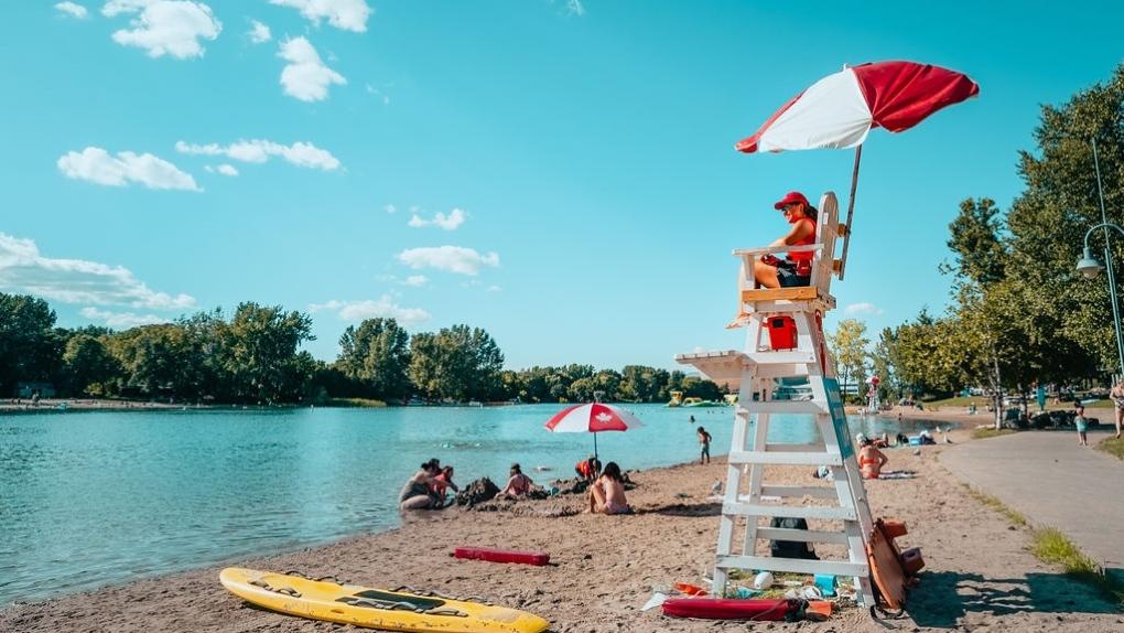 Jean-Dore beach will open in July