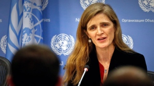 Former U.S. ambassador to the UN Samantha Power