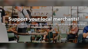 A crowdfunding campaign in support of local merchants in Wellington West and Hintonburg has raised nearly $30,000. (Photo: love.wellingtonwest.ca)