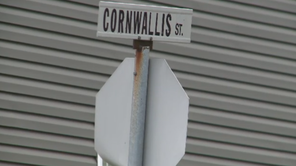 Cornwallis Street sign