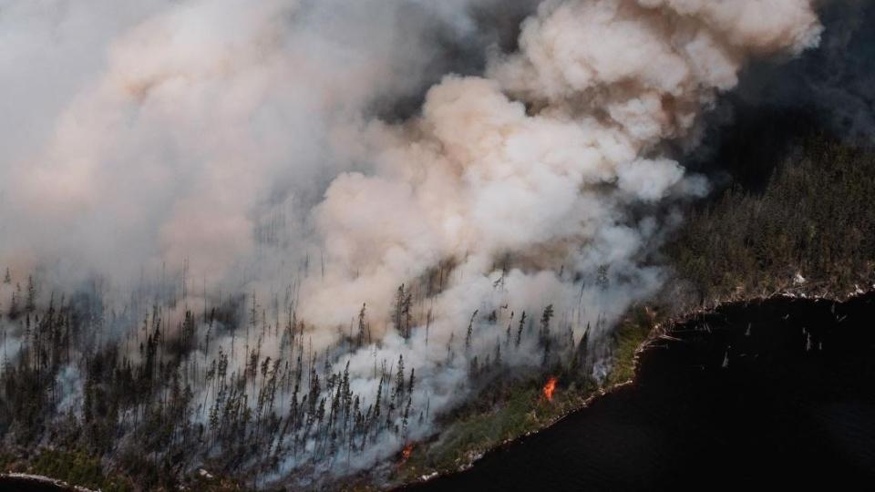Quebec forest fires