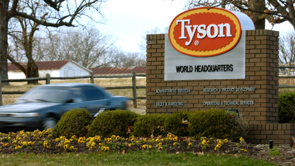China halts imports from Tyson Foods plant over coronavirus fears