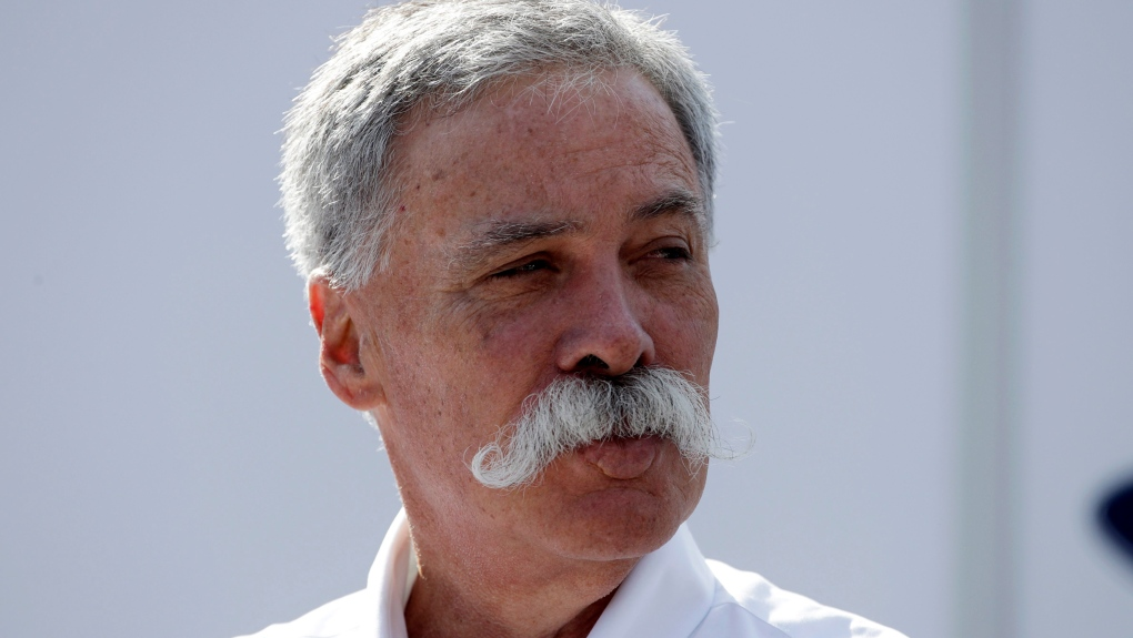 CEO of the Formula One Group