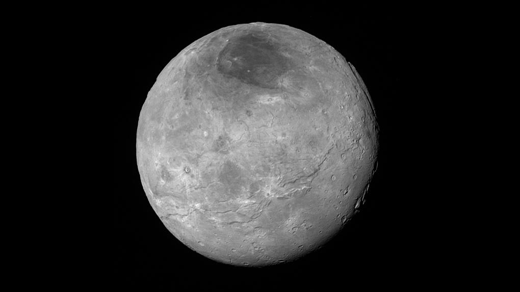 Pluto's crust may be hiding ocean