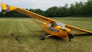 Emergency crews responded to a plane crash in Puslinch Township on June 22, 2020 (Source: Wellington County OPP)